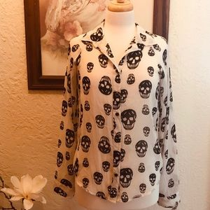 Skull Dress Shirt